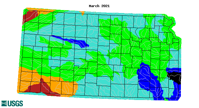 WaterWatch streamflow maps and click to go to WaterWatch