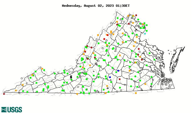 Virginia Streamflow