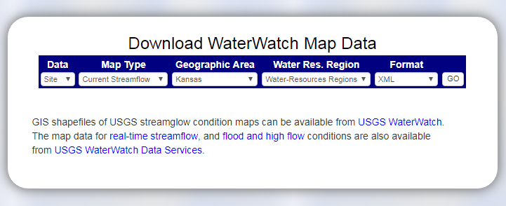 Map data download